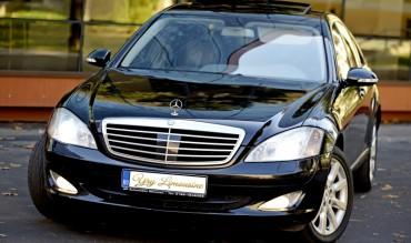 Mercedes S-CLASS  negru metalizat